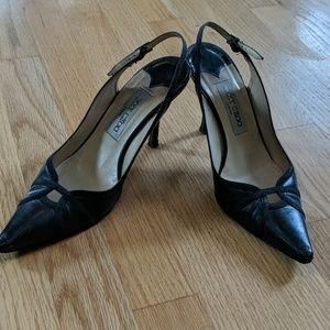 Sexy AUT Jimmy Choo black heels/shoes!